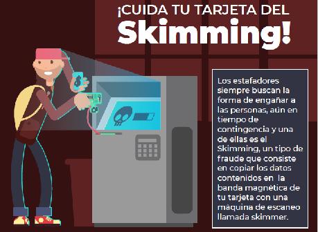 ¡Cuida tu tarjeta del Skimming!