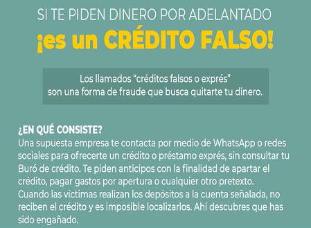 credito falso 3